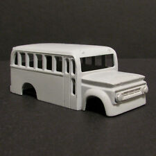 Jimmy Flintstone HO Skool Bus Resin Slot Car Body - Fits 4 Gear - SWB  #27