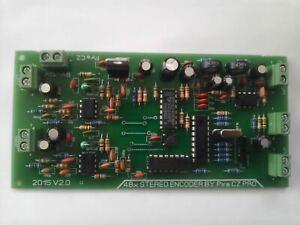 STEREO ENCODER FM TRANSMITTER stereo encoder 48xSTEREO ENCODER fm pira