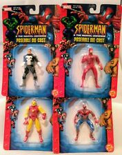 Spiderman & The Marvel Universe Spidey Iron Man Daredevil Punisher Figure Set