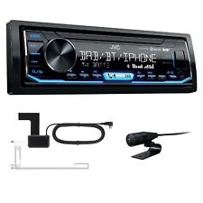 JVC KD-X451DBT USB AUX MP3 Autoradio Digitalradio Bluetooth inkl DAB Antenne
