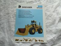 Dresser pay loader 555 tractor brochure