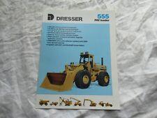 Dresser pay loader 555 tractor brochure