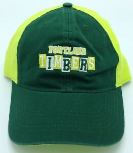 MLS Portland Timbers Adult Slouch Adjustable Fit Curved Brim Cap Hat Beanie NEW!
