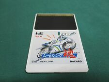 NEC PC Engine -- RACING SPIRITS HuCARD ONLY -- JAPAN. GAME. Work. 11231