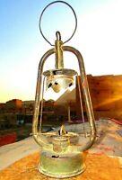 Vintage Oil Lamp Light Kerosene, Rare Antique Lantern, Unique Handmade Lamp