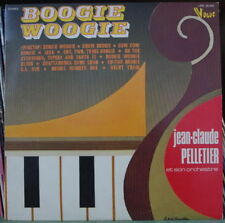JEAN CLAUDE PELLETIER BOOGIE WOOGIE FRENCH LP DISQUES VOGUE 1974