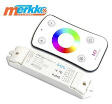 RF Wireless LED Strip RGB Controller Touch Remote 5050 3528 L-tech Mini M3 288W