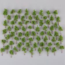 100Pcs N Z échelle Mini Green modèles d'arbres pour Garden Park Street Layout