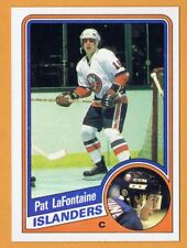 1984-85 Topps #96 Pat Lafontaine - RC