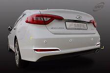 Chrome Rear Bumper Reflector NIP Molding Set for Hyundai  Sonata 14-18 NEW