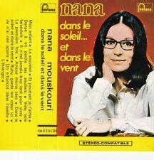 K 7 AUDIO (TAPE)   NANA MOUSKOURI *DANS LE SOLEIL ET DANS LE VENT* 1969 BIEM