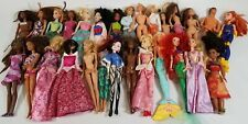 8+ Lbs Bulk Lot Of Barbie and Similar Mattel Fashion Dolls - Fla