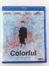 Colorful: The Motion Picture Authentic Region A Blu-ray Disc Sentai Dub&Sub 5.1