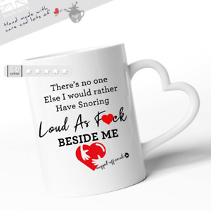 Snoring Mug Rude Funny Gifts Mug Cups Tea Coffee Mugs Valentines Birthday