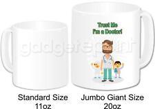 Personalised Doctor Gift Coffee Tea Novelty Jumbo Giant 20oz Mug (Design 1)