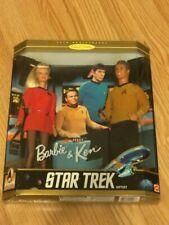 Star trek Barbie and Ken Giftset 1996