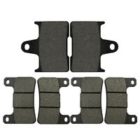 Front Rear Brake Pads Kit for Suzuki GSXR600 04~05 GSXR750 04~05 GSXR1000 04~06