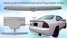 FRP Honda Accord CD6 SV4 H22A 2/4 DR JDM Flush Rear Trunk Spoiler Wing 94-95 NEW