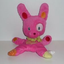 Doudou Lapin Rose Nicotoy Cocard