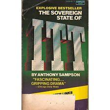 THE SOVEREIGN STATE OF ITT Anthony Sampson 1974 x-lib PB S2