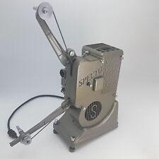 Vintage 1950s Specto 500 Dual 8mm y 16mm Proyector de Cine [SN:40422] no probado