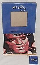 "Elvis Presley Tile NEW In Box By Joe Petruccio Heart And Soul 8"" X 8"""