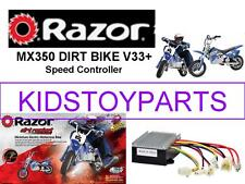 NEW! Razor MX350 DIRT BIKE V33+ ESC (ELECTRONIC SPEED CONTROLLER)