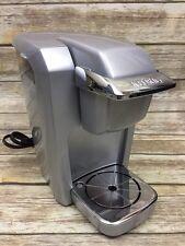 Keurig K10 Mini Personal Coffee K-Cup Brewer Maker Platinum Silver Machine Gray