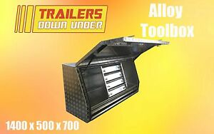 Aluminium Toolbox with 5 draws   Water and Dust proof   Alloy Toolbox