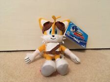 Sonic the Hedgehog Sonic Boom Miles Tails Prower TOMY Plush Toy Rare