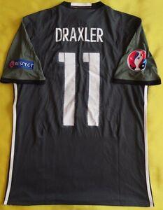 Draxler Germany Jersey 2016 Away M Shirt Mens Trikot Soccer Football Adidas ig93