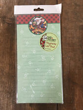 Mary Engelbreit Christmas Believe New Magnetic List Pad - 80 sheets 8x4