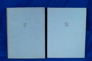 1964 AND 1969 THE OLD WATER COLOUR SOCIETY'S CLUB VOLUMES 39 AND 44