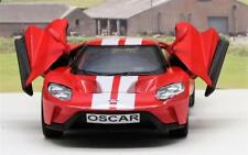 PERSONALISED PLATE Gift 2017 Red Ford GT Diecast Model Boys Dad Toy Car Present