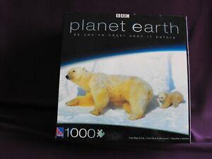 1000 piece Jigsaw - Planet Earth Polar Bears