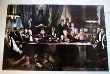 The Godfathers 36 x 24 Color Poster Dinner Scene Unframed   FRAMING AVAILABLE