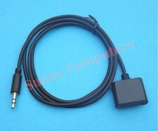 AUX 3.5mm Male to 30Pin Female Dock Adapter Cable for Samsung HTC LG Sony Black