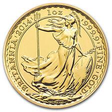 2014 1 oz Gold Britannia Coin - Brilliant Uncirculated - SKU #79575