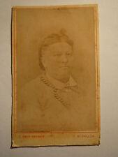 St. Gallen - Frau im Kleid - Portrait / CDV