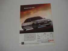 advertising Pubblicità 1989 PEUGEOT 405 Mi 16 4X4