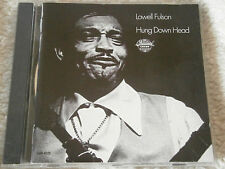 Lowell Fulson - Hung Down Head (1991 UK Chess Blues CD, VG Disc, New Case)