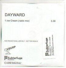 (416J) Dayward, Ice Cream - DJ CD