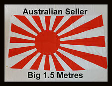 Big 1.5 Metre Japanese Rising Sun Flag - Japan 日本国 - Large New Flag
