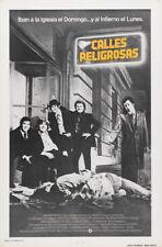 Mean Street Robert De Niro vintage movie poster print