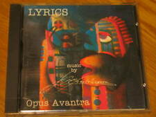 OPUS AVANTRA LYRICS RARE OOP CD