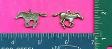 12 wholesale pewter mustang horse pendants 4037