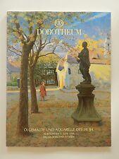 Dorotheum Ölgemälde und Aquarelle des 19 Jahrhunderts Auktion 1996