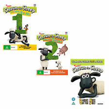 Shaun the Sheep Season Series 1, 2, 3 & 4 DVD New Sealed