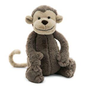 JELLYCAT Bashful Monkey Medium 31cm - Soft plush toy
