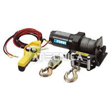 Argano elettrico vericello 12V 450-900Kg Fervi 0630/0900 700W cavo 15mt